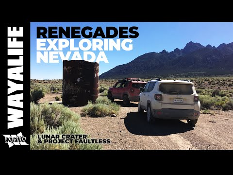 Exploring Nevada's Explosive Past - Lunar Crater & Project Faultless Jeep Renegade Adventure