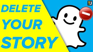 How to Delete Your ENTIRE Story on Snapchat!