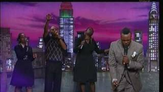 Vashawn Mitchell on the Donnie Mcclurkin Show On TBN Nobody Greater Steve Harvey