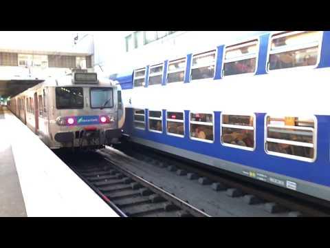 Gare D'Evry Courcouronnes, Paris Ervy, France (04982)