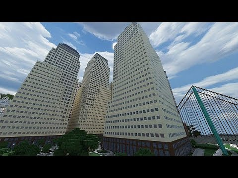 World financial center!!! | Minecraft Tutorial Pt.2
