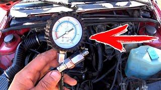 Горит лампочка давления? Как проверить давление масла в двигателе механическим манометром