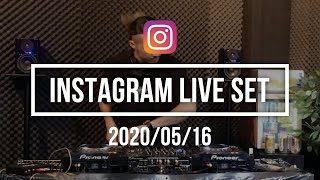 YouTube動画:INSTAGRAM LIVE SET 2020/05/16 (R&B SET)