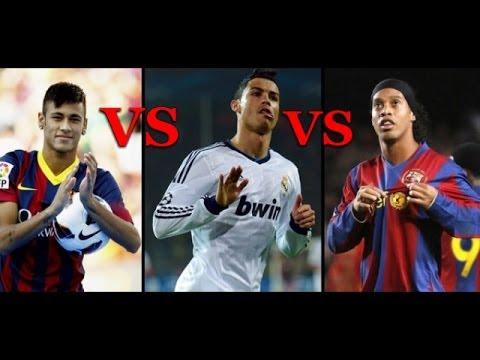 Cristiano Turbo Ronaldo Vs Neymar Vs Ronaldinho Edited By ...