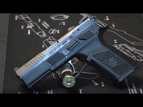 CZ P-07 in 9mm