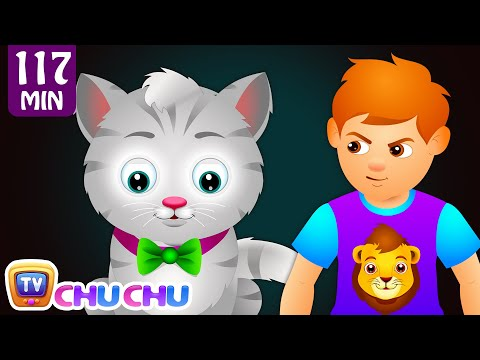 Thumbnail: Ding Dong Bell Nursery Rhyme (KITTY CAT) and Many More Nursery Rhymes & Kids Songs by ChuChu TV