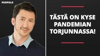 TÄSTÄ ON KYSE PANDEMIAN TORJUNNASSA!