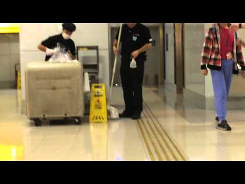 Cleaning Team at Haneda Airport