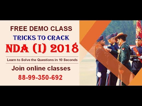 Tips tricks to crack nda i 2018 air force group x ssr aa tips tricks to crack nda i 2018 air force group x ssr aa malvernweather Gallery