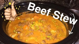 How to Make: CrockPot Beef Stew