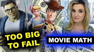 Box Office for Toy Story 4, Avengers Endgame Re Release