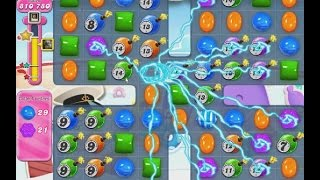 Candy Crush Level 615 frog - ★★★ High Scroe 1,285,430
