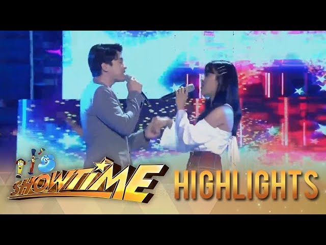 It's Showtime: CK and Vivoree opens It's Showtime with a their rendition of 'Rewrite the Stars'
