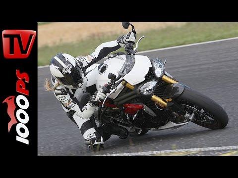 Triumph Speed Triple R | Naked Bike Test Rennstrecke