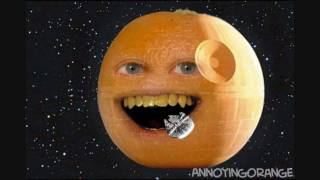 The Annoying Orange Background Theme