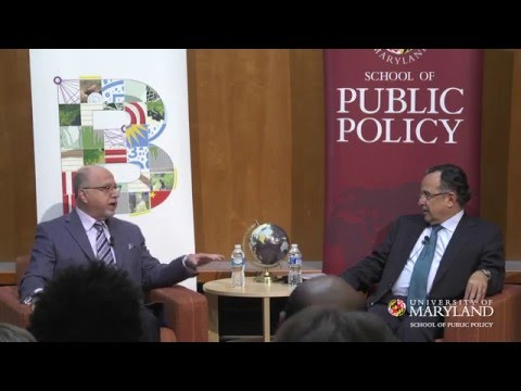 School of Public Policy | Egypt's Role in a Changing Middle East | Ambassador Nabil Fahmy