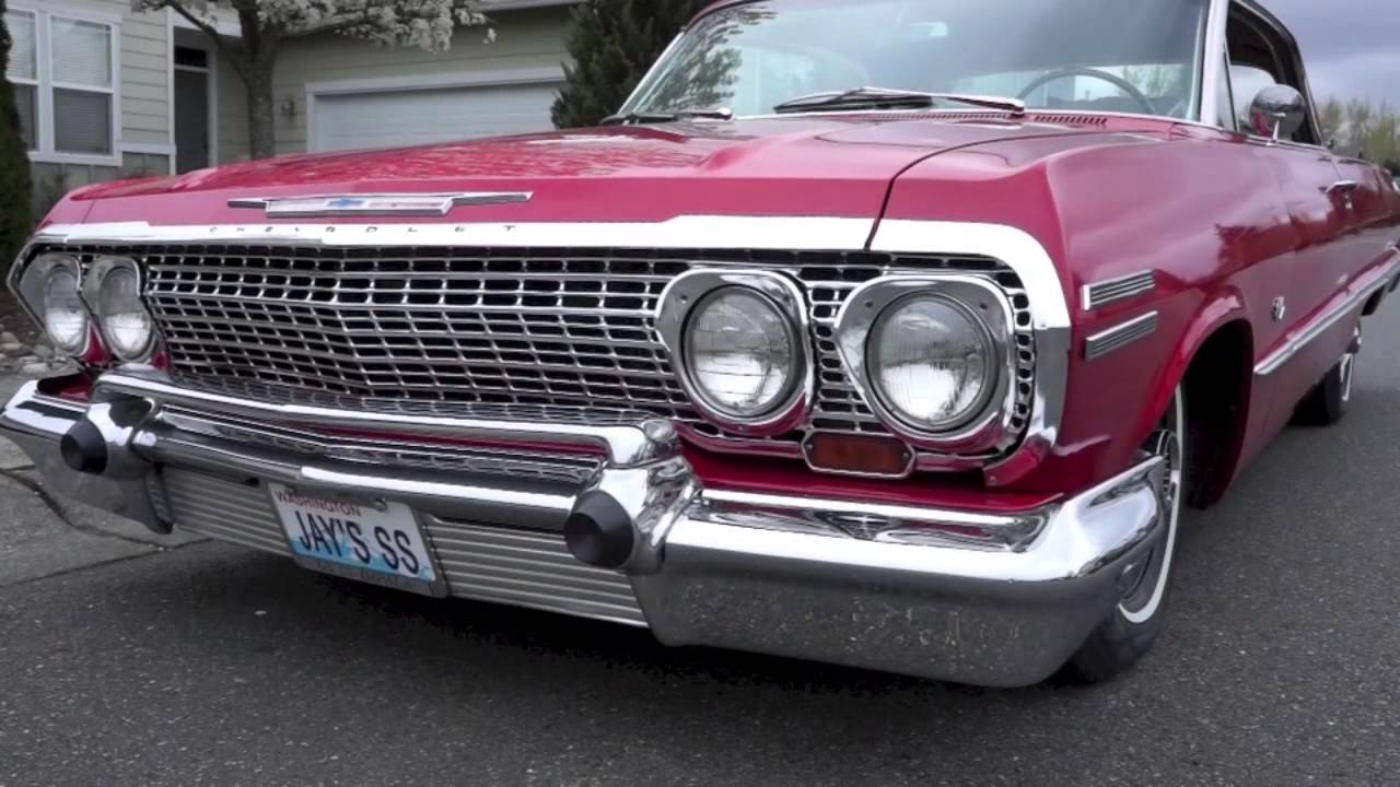 Jay's 1963 Chevy Impala Sports An EZ Air Ride Suspension Kit