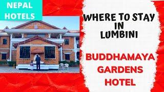 Where to Stay in LUMBINI Buddhamaya Gardens Hotel KGH Lumbini Hotel Review nepalhotels nepal