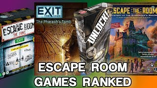 Which Escape Room Game Should You Buy?   Roll For Crit