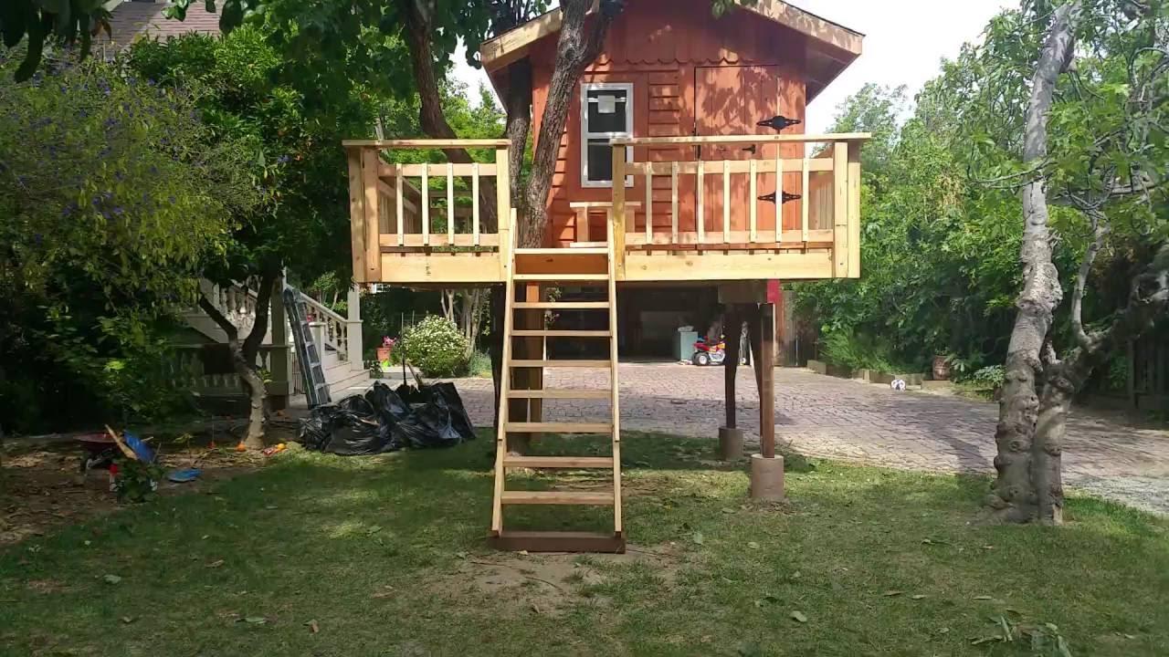 Kids treehouse designs and ideas - YouTube on Backyard House Ideas id=46638