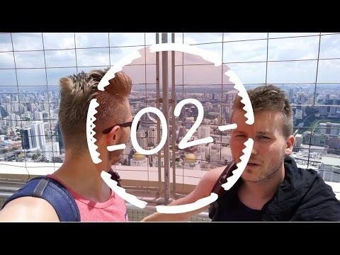 BANGKOK VON OBEN + VERRÜCKTE MALL - Work & Travel #2
