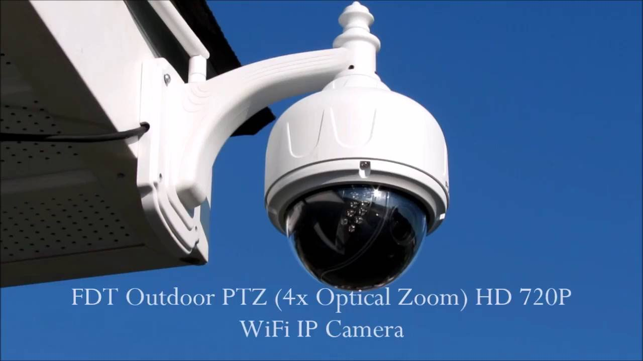 Camera Ip Exterieur Hikvision Wifi Fdt Outdoor Ptz 4x Optical Zoom Hd 720p Wifi Ip Camera Part One Of Two