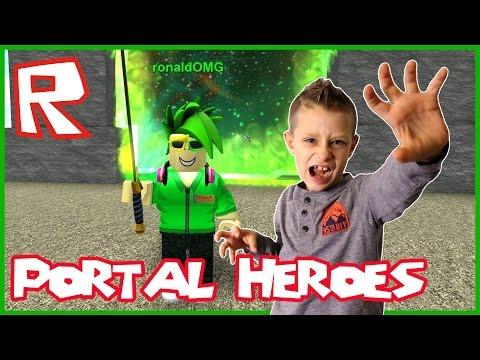 I am a Portal Master / Roblox Portal Heroes