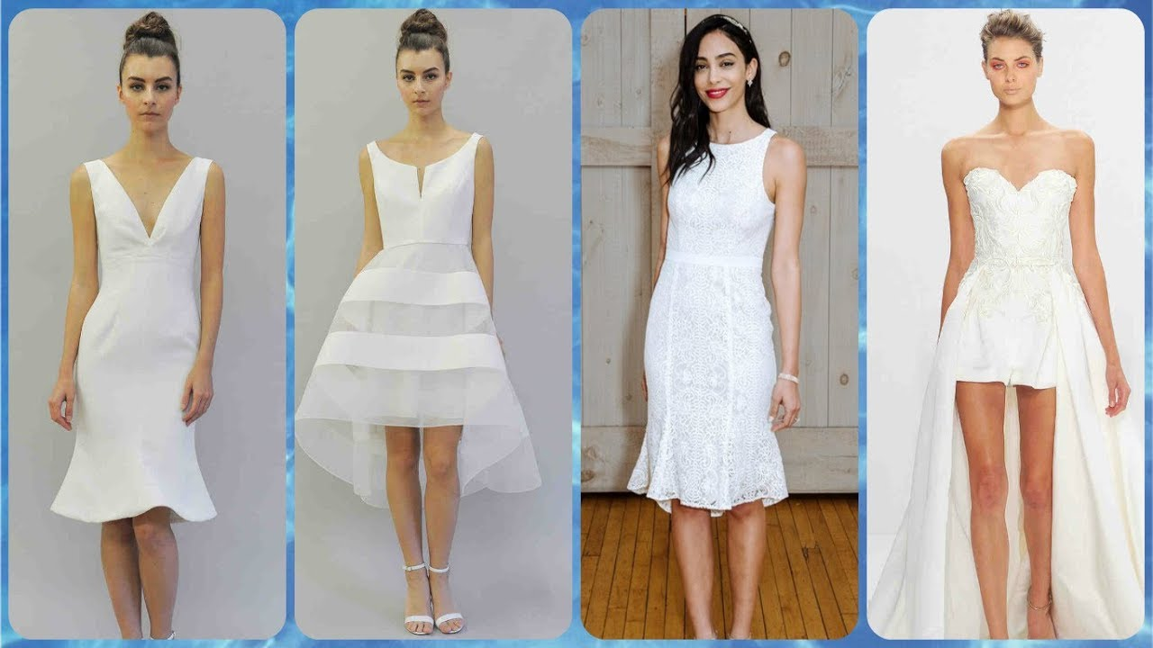 20 Najlepših Moderne Haljine Za Svadbu Kratke Proljeće Ljeto 2018