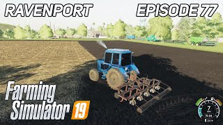 Cultivation of The Field, Washing of Machines | Farming Simulator 19 | Timelapse | Ravenport #77