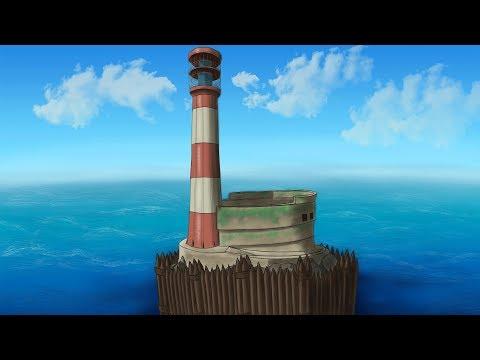 Застроил РТ. Собственный маяк с нуля в Раст/Rust