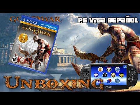 Unboxing God Of War Collections HD Ps Vita | Ps Vita ESPAÑOL