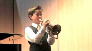 Flugelhorn solo - Dominic Longhurst - Melancholy Mood - Tony Cliff