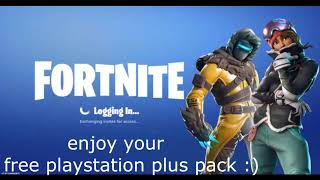 FORTNITE SEASON 7 - How to GET for FREE PS4 plus SKINS pack NO PS Plus required !!