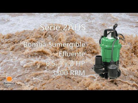 Serie 2AHS de Barmesa Pumps