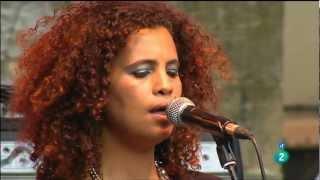 """Neneh Cherry & The Thing """"A Tribute to Don Cherry"""" - Heineken Jazzaldia 2012 fragm. 1"""
