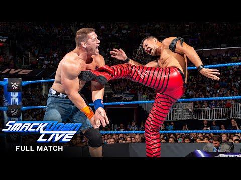FULL MATCH - John Cena vs. Shinsuke Nakamura: SmackDown LIVE, August 1, 2017