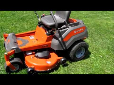 husqvarna z246 tondeuse gazon zero turn youtube