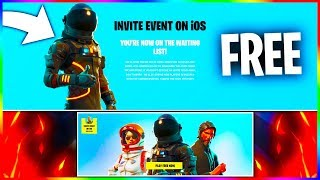 How To Get Fortnite PHONE/IOS CODES For FREE! How To SIGN Up For EARLY ACCESS Fortnite on IOS!