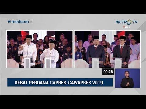 Debat Pilpres 2019 Part 6 - Jokowi Buktikan Keberpihakan Ke Perempuan Dan Penegakan Hukum Ke Prabowo