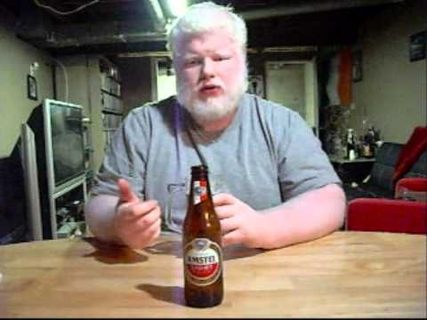 Albino Rhino Beer Review: Amstel Light