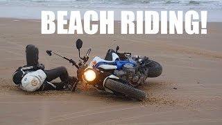 How NOT To Ride A Motorcycle On Sand