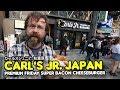 trying japanese carl 39 s jr in akihabara カールスジュニア 秋葉原
