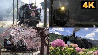 Oigawa-railway,Steam Locomotive,2019 omnibus./大井川鉄道 SL(蒸気機関車)2019年総集編