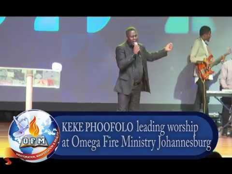 Pastor Israel Mosehla LIVE in worship
