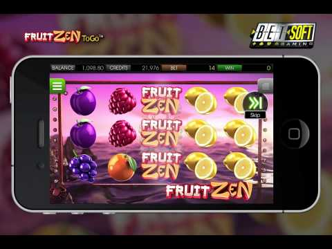 BSG Presents Fruit Zen ToGo™ Mobile Game