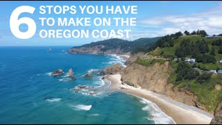 6 STOPS YOU HAVE TO MAKE ON THE OREGON COAST | Oregon Coast RV Travel from Florence to Cannon Beach