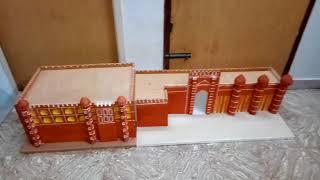 School Project - Amer Fort Model ( www.schoolprojectcenter.in )