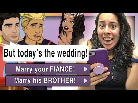 I Have To Pick Which Guy To MARRY?!?  (Recently Royal | Episode Choose Your Story)