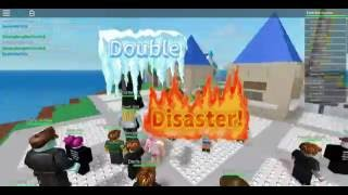 ROBLOX 1# Earth Quake and Tsunami !?!!? Natural Disaster Survival Gameplay