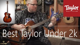 Best Taylor Guitar Under 2k? 224ce-K Deluxe Review